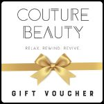 Couture Beauty Gift Voucher
